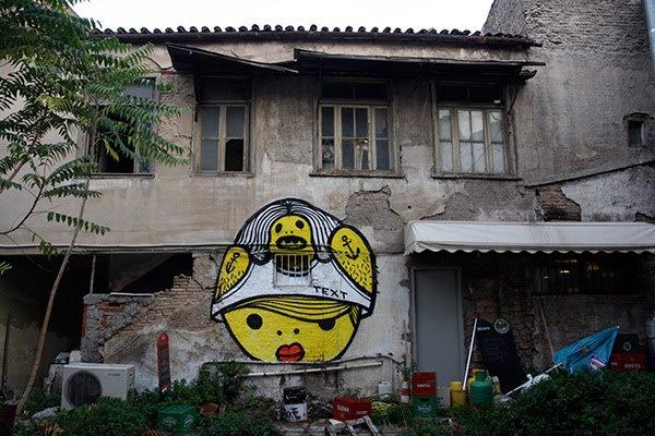 Streetwork in Kerameikos-Metaxourgeio, Athens, 2009
