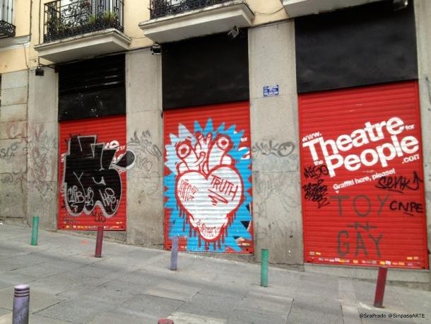 Sabek y Ruina por Madrid