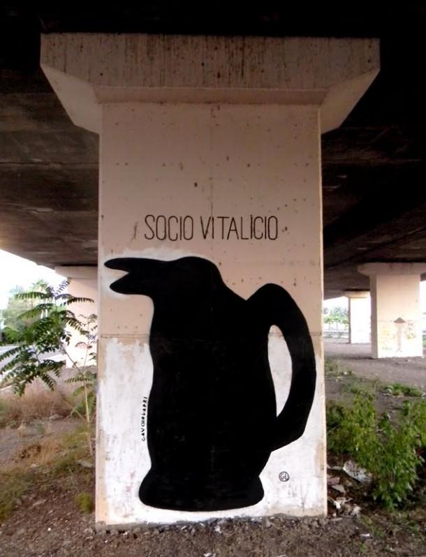Gaucholadri Graffiti argento