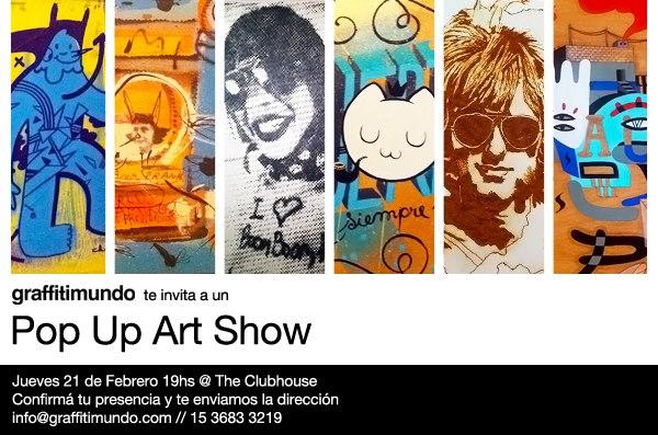 Muestra Colectiva de arte callejero