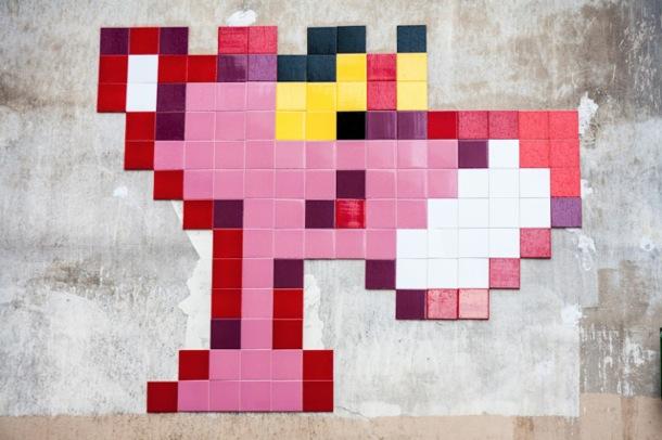 Pink Panther Invader
