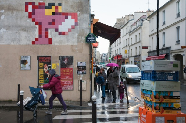 Invader en París