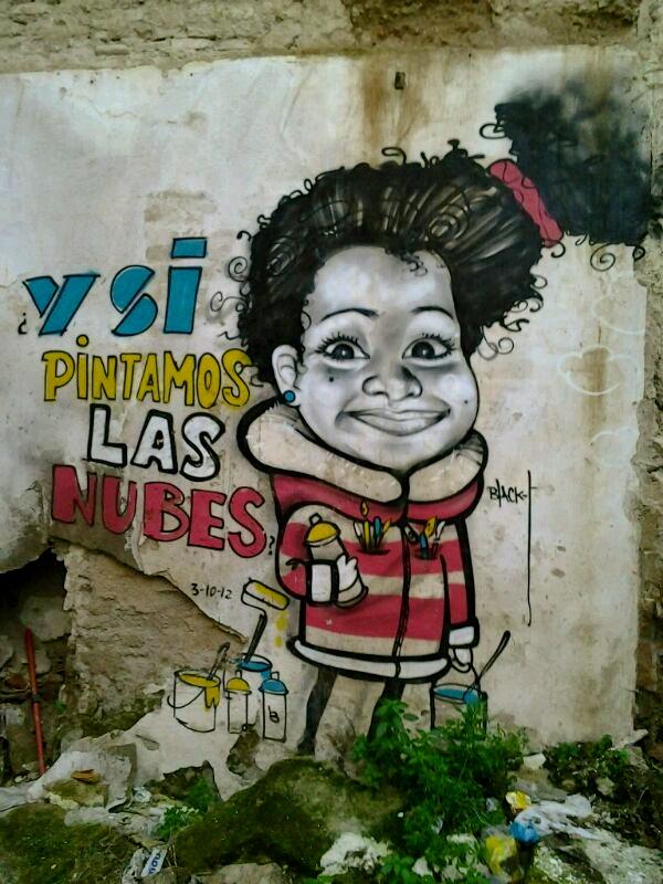Graffiti cordobés en Sin pasARTE de la raya