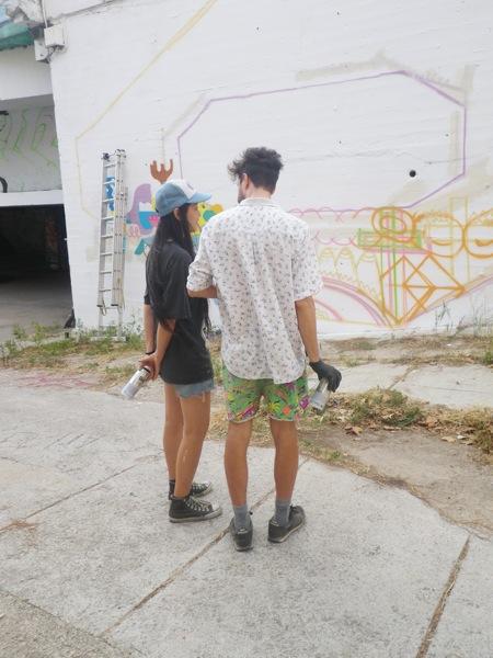 Zosen y Mina Hamada en Madrid