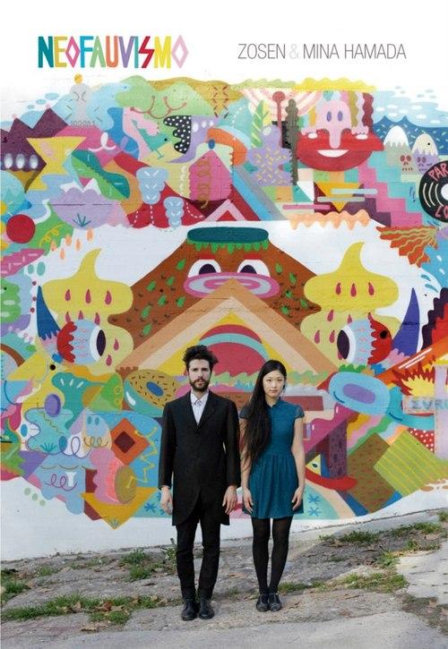 Cartel Zosen y Mina Hamada en Madrid
