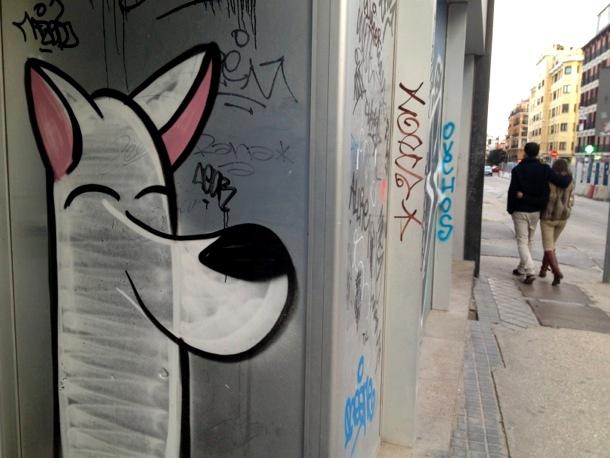 Graffiti por las calles de Madrid