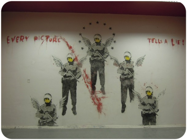 Graffiti - Izaskun en Berlín
