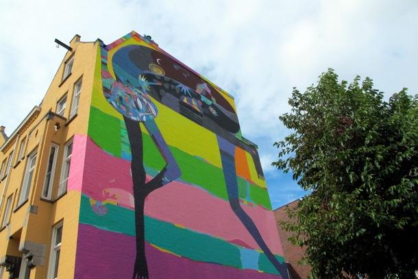 Mural de Rimon en Amsterdam