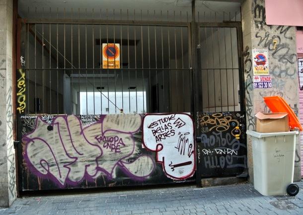 Streetart Malasaña Ruina