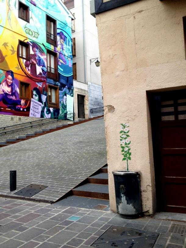 Arte urbano en Vitoria