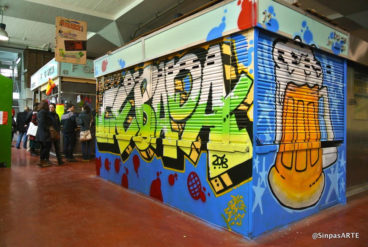 Graffiti y mercado