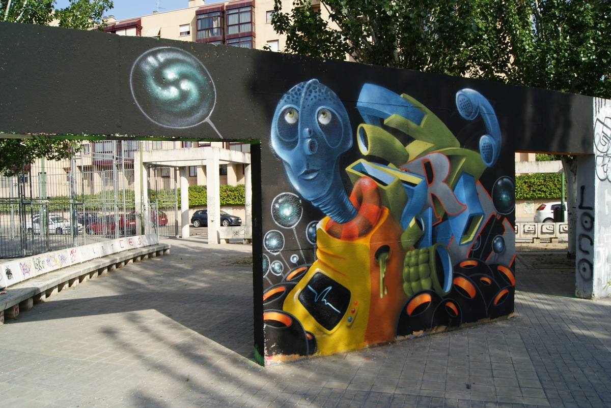 Graffiticonnection by Dani Yebra