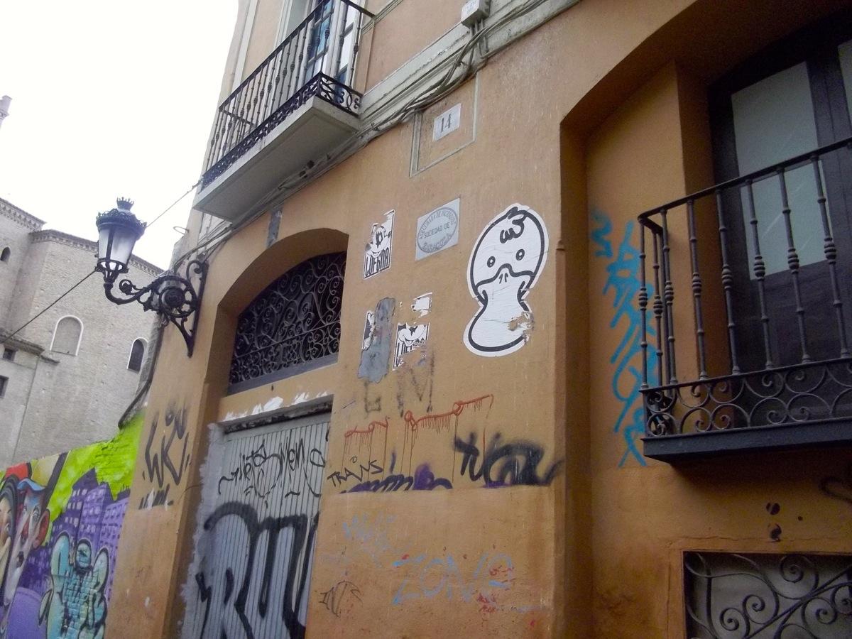 Ornitorrinco en Zaragoza