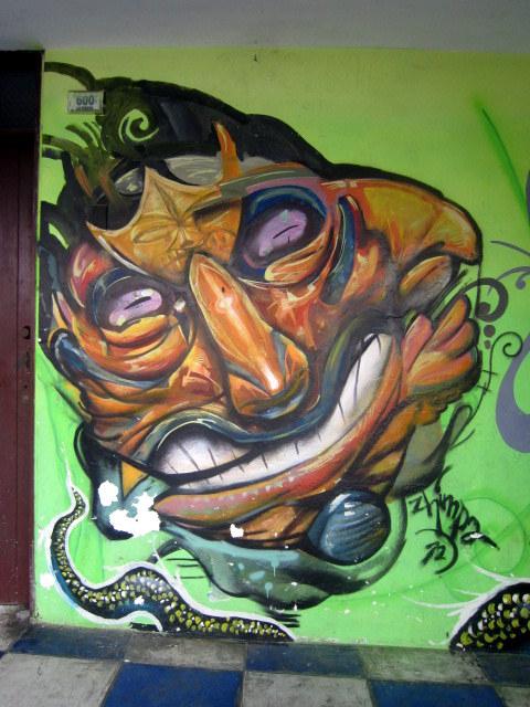 Huanchaco street art , foto de Limonchis