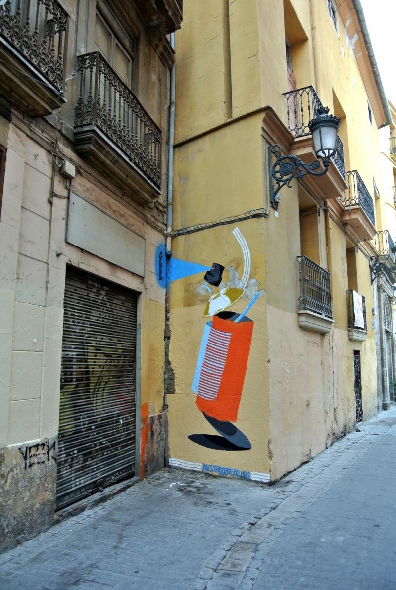 Maestro Cerezo en el Barrio del Carmen