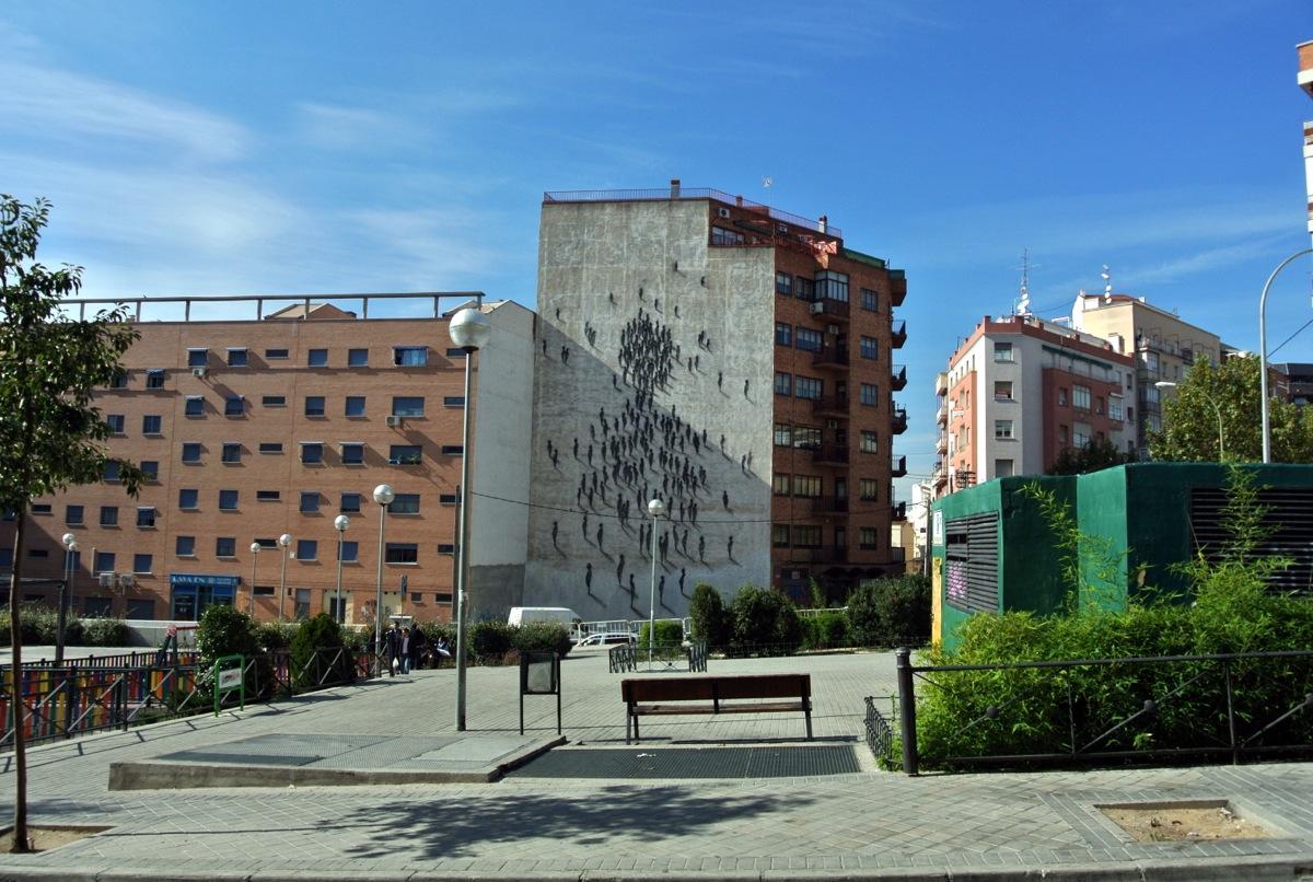 La plaza del poeta Leopoldo de Luis