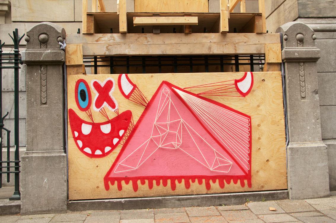 OX ALIEN + SPIDERTAG en ROTTERDAM 2013--