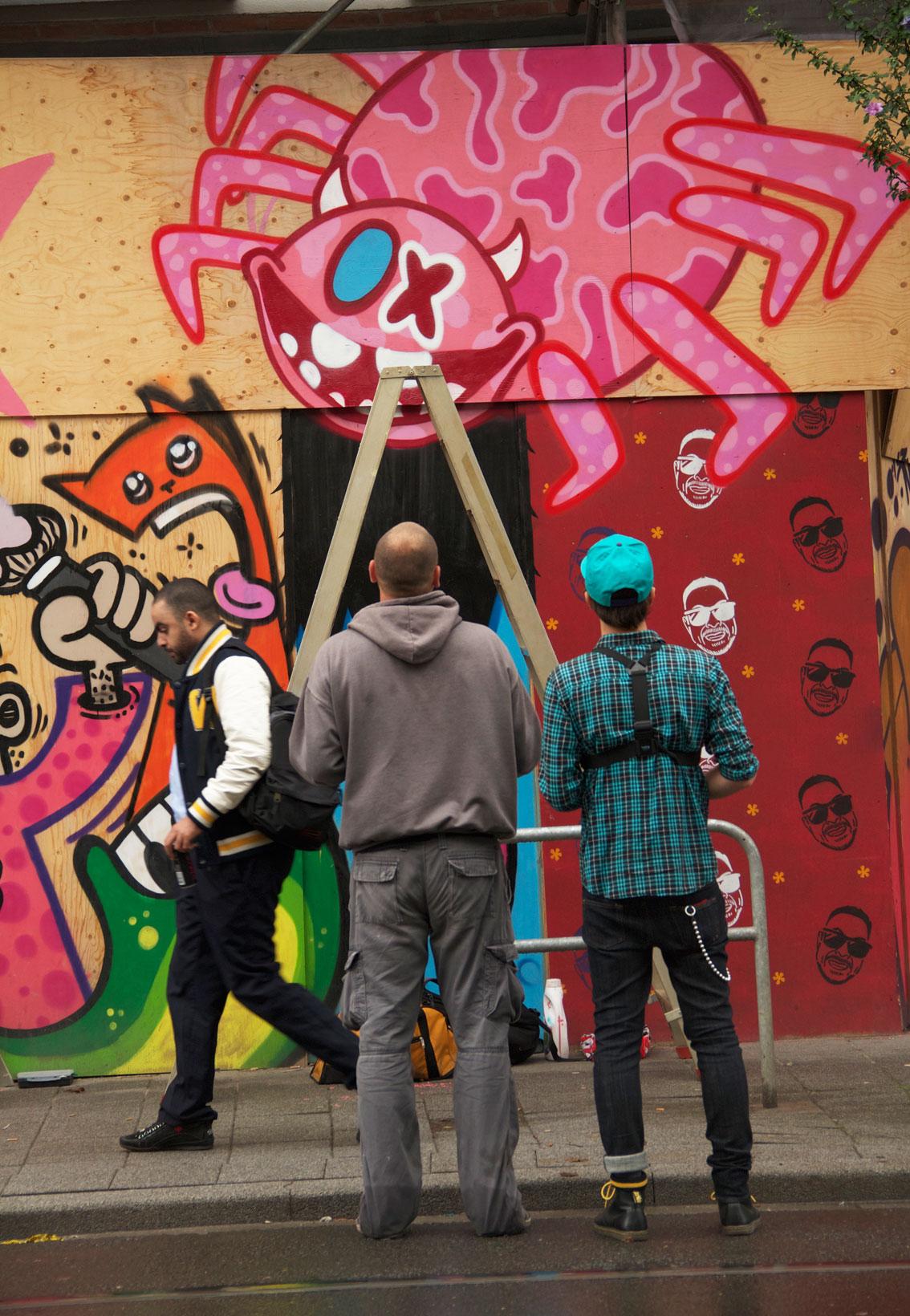 OX ALIEN + SPIDERTAG en ROTTERDAM 2013___