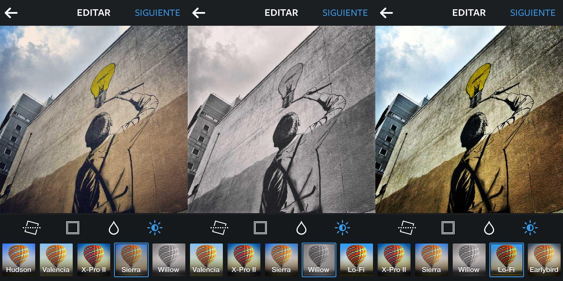 Fotos retocadas con Instagram