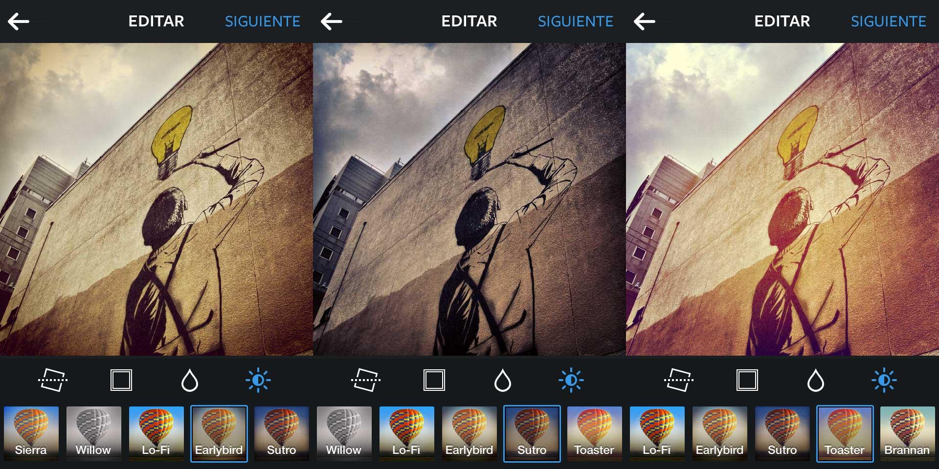 Más filtros para nuestras fotos.