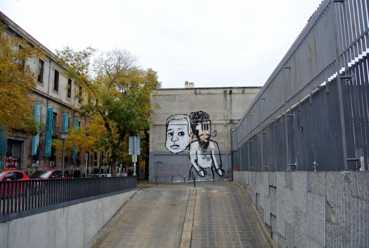 CollettivoFX, contaminando las calles de Madrid