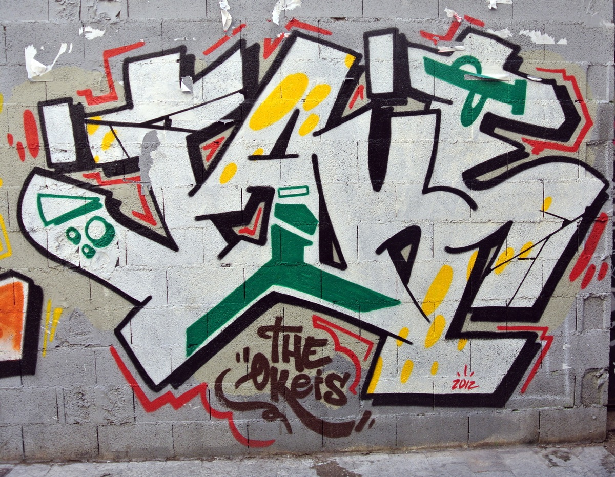 Graffitis en Valencia