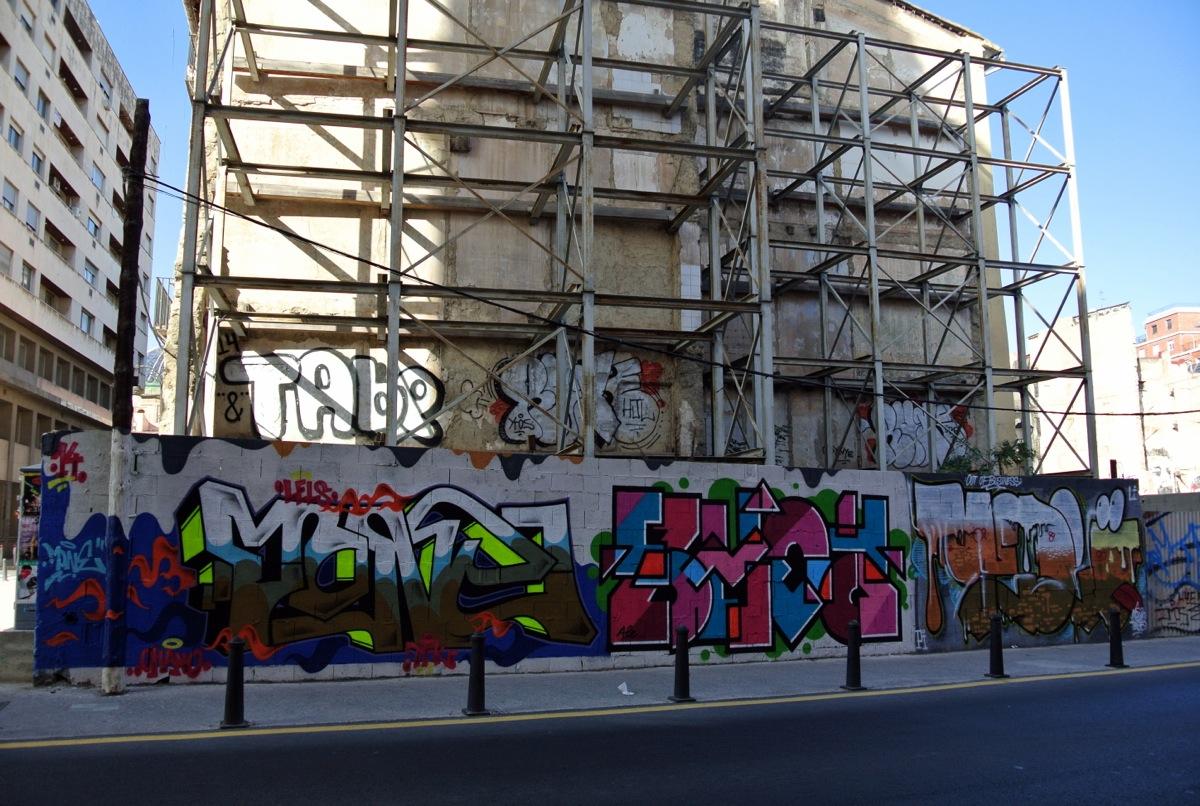 Graffitis valencianos