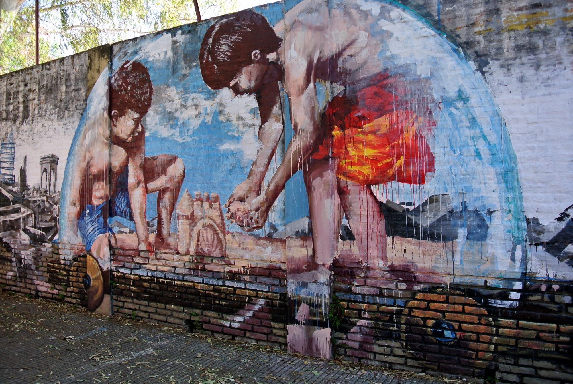 Street Art 2014 Buenos Aires