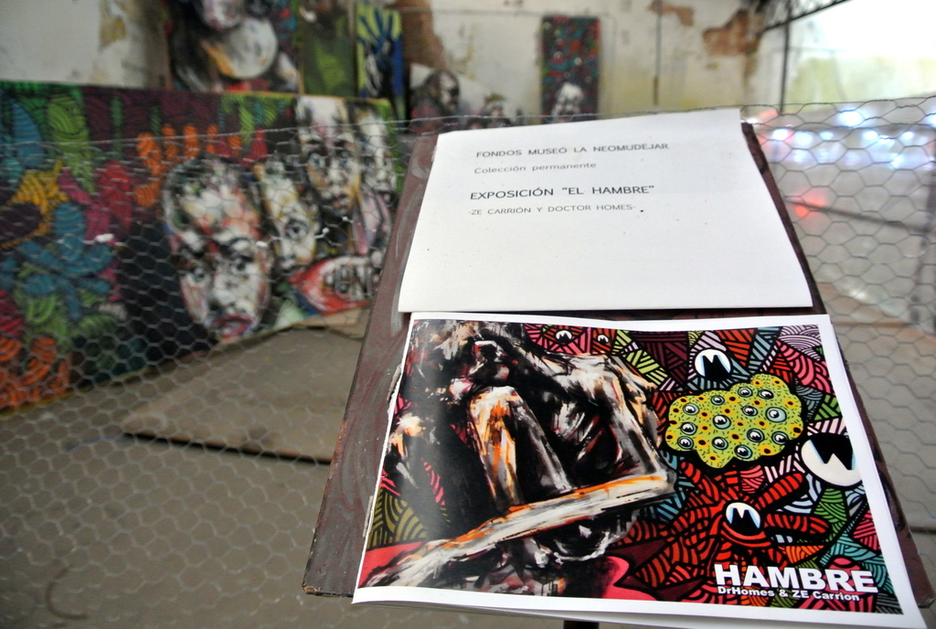 El Hambre - Expo en La Neomudéjar