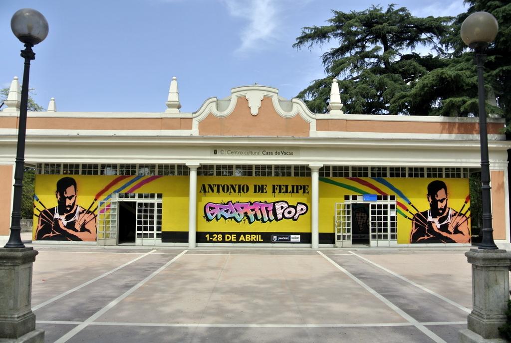 El arte pop se hace grafiti con Antonio de Felipe