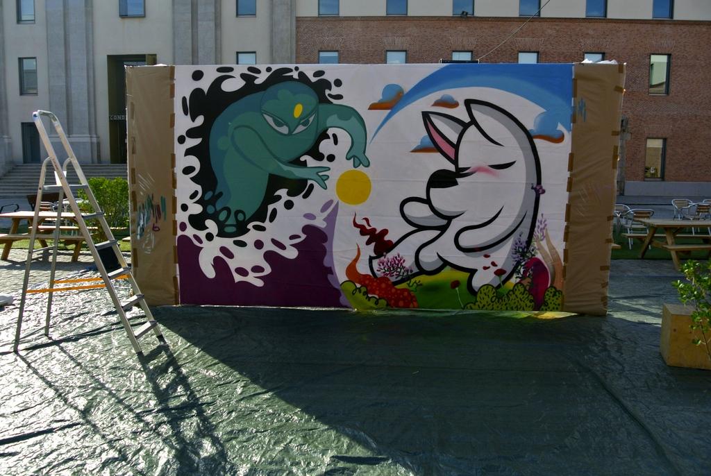 Live Painting - Dingo Perro Mudo y Ciril23