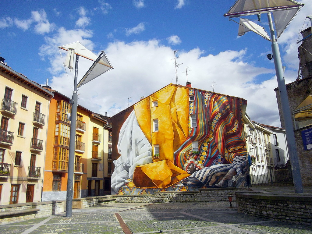 Vitoria-Gasteiz, la ciudad pintada: Al hilo del tiempo