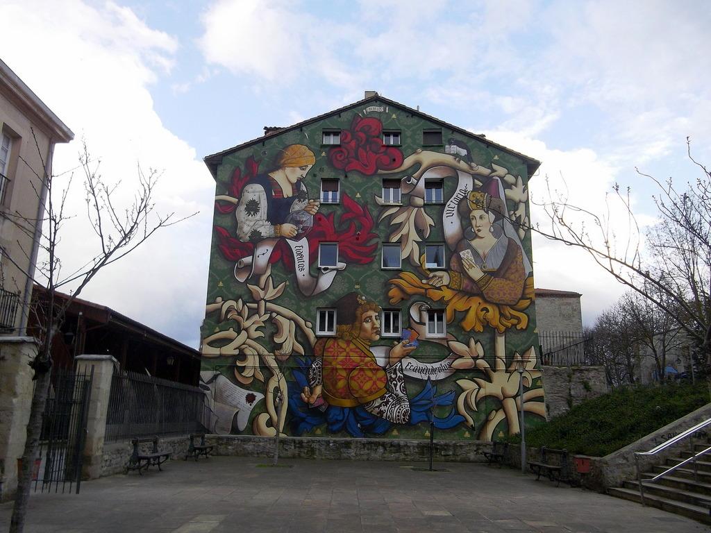 Vitoria-Gasteiz, la ciudad pintada: El Triunfo de Vitoria