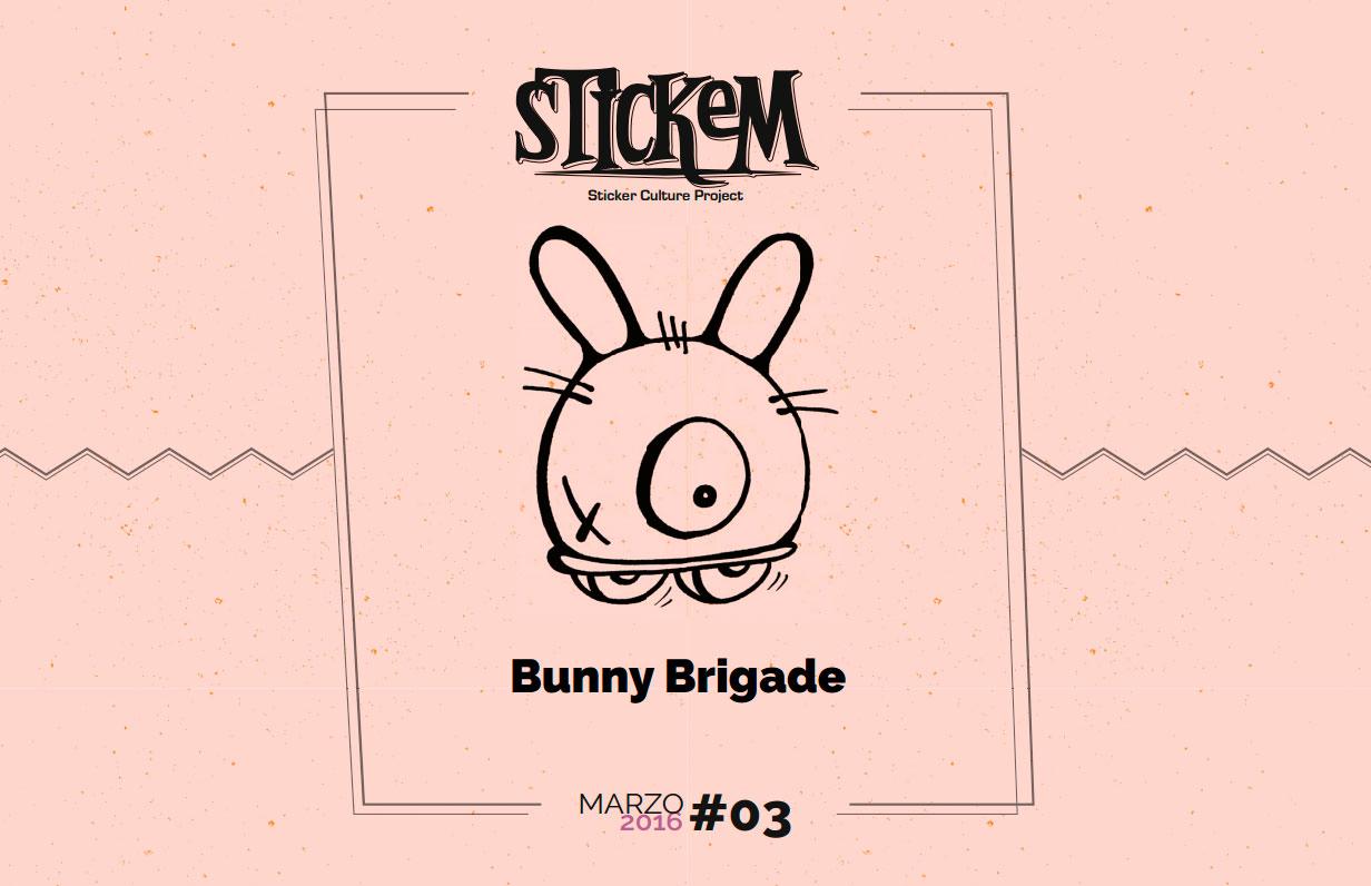 SinPasarte-Bunny-Brigade-Stickem