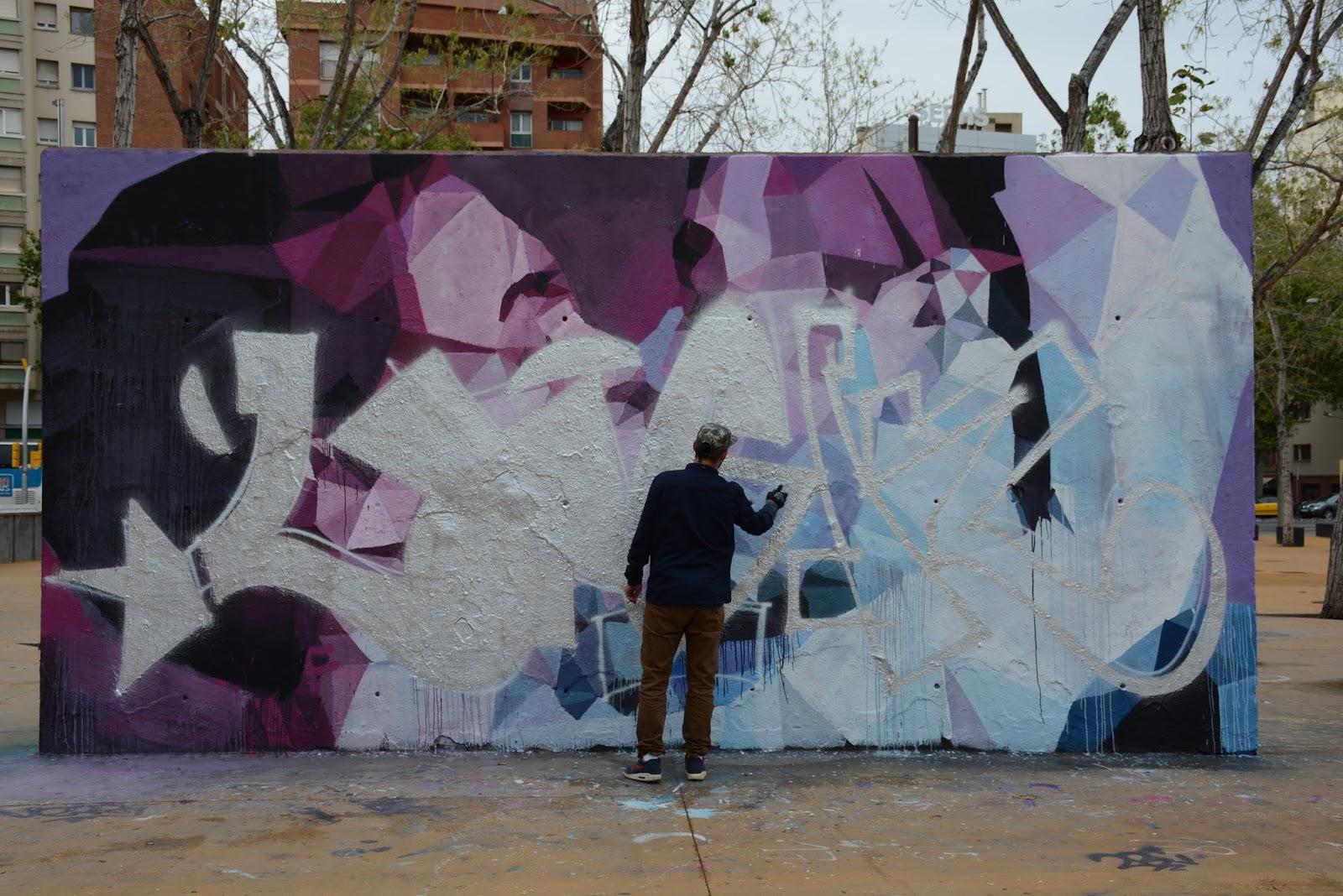 Arte urbano en cambio constante.