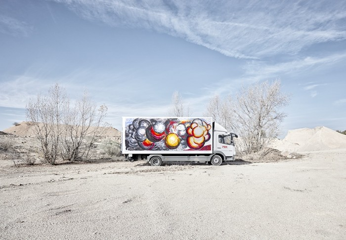 Abraham Lacalle para Truck Art Project