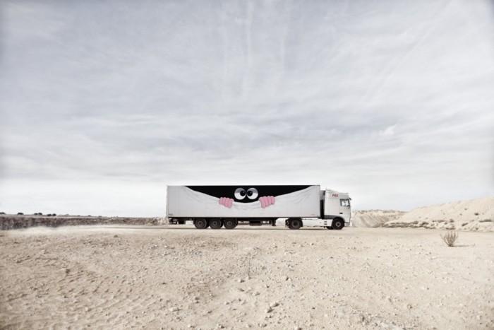 Javier Calleja para Truck Art Project
