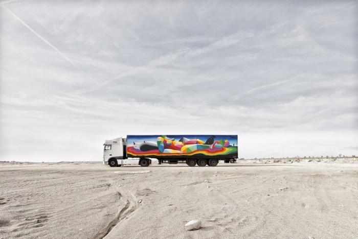Okuda para Truck Art Project