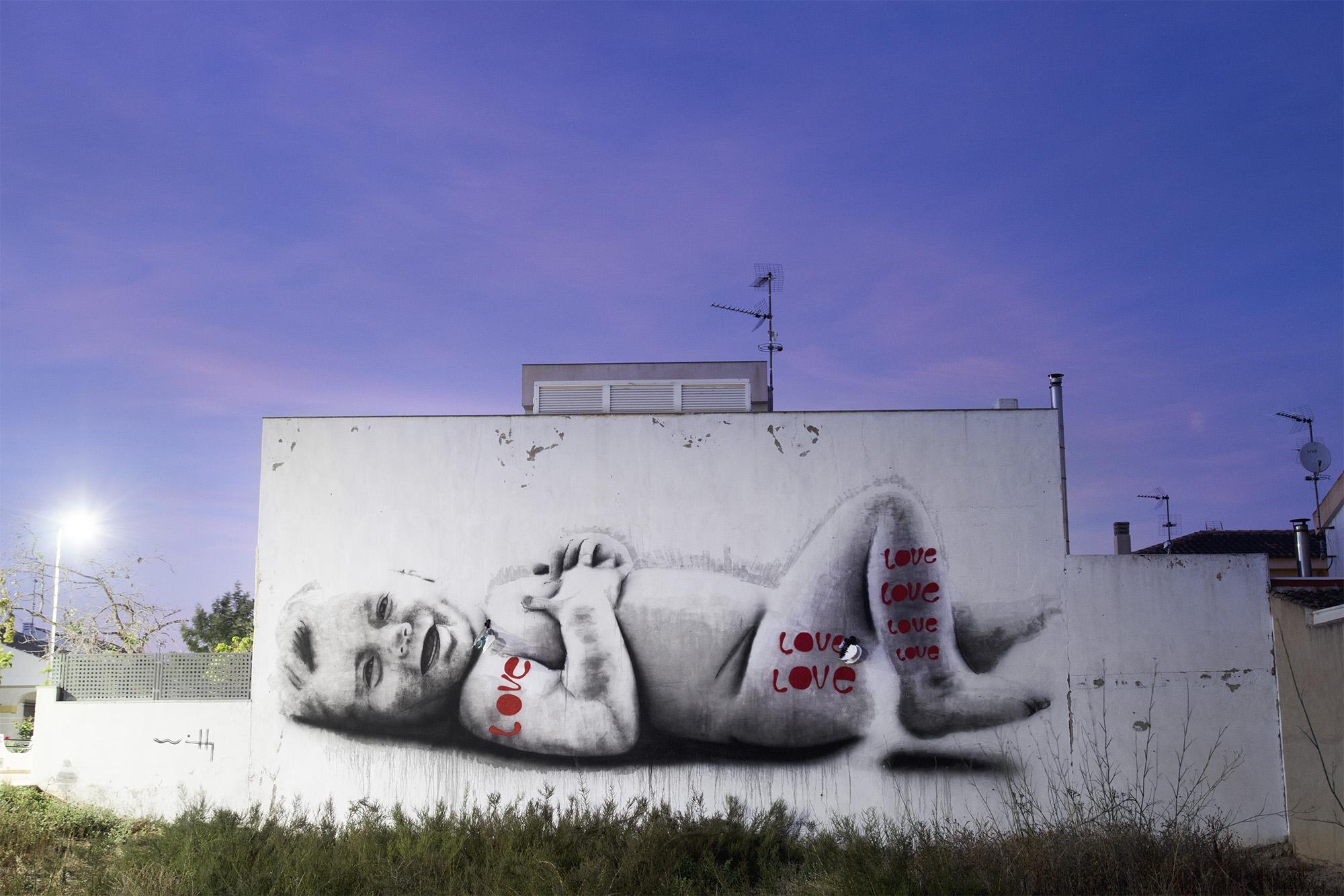 Willy Arenas by Aisac Studio para los Álcazares Street Art